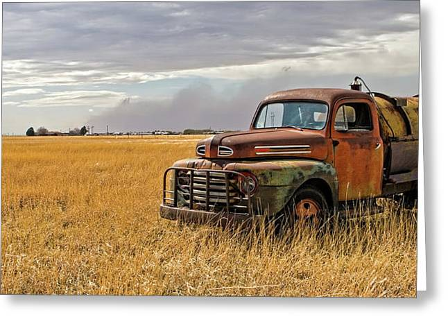 Texas Truck Ws Greeting Card