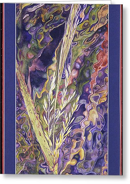 Texas Wild Rice Greeting Card by Nancy  Ethiel