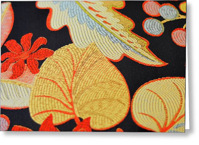 Textile Greeting Card by JAMART Photography