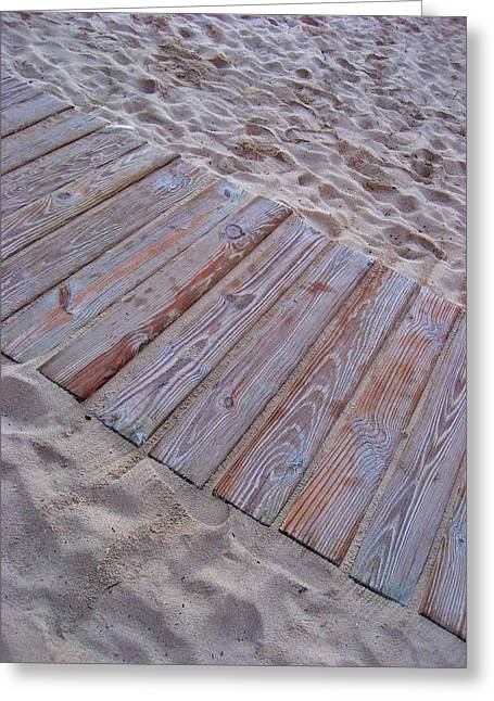 Texture. Beach. Sand.  Greeting Card by Andy Za