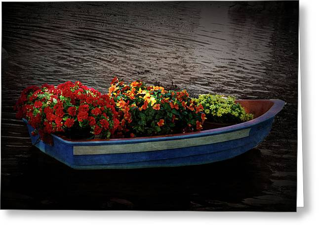 Greeting Card featuring the photograph Texture Drama Boat Parade by Aimee L Maher Photography and Art Visit ALMGallerydotcom