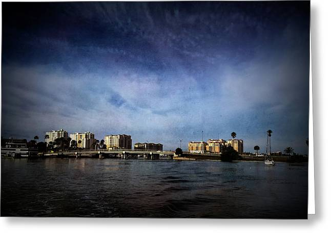 Texture Drama Clearwater Florida Greeting Card