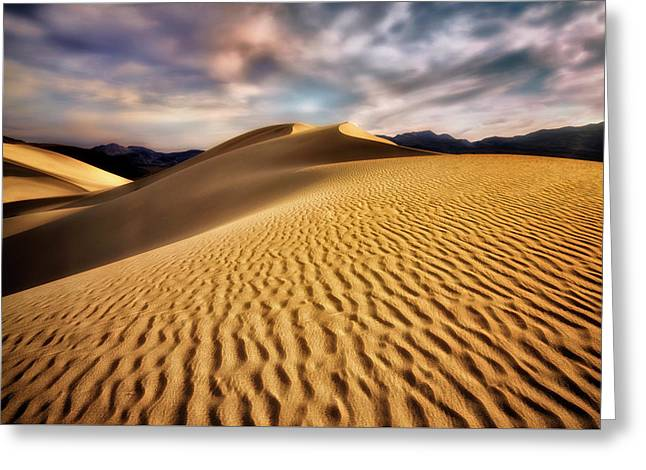 Textured Dunes  Greeting Card