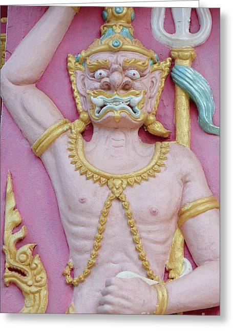 Thai Temple Art I Greeting Card