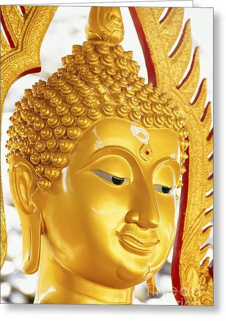 Thailand, Pathom Thani Greeting Card by Bill Brennan - Printscapes