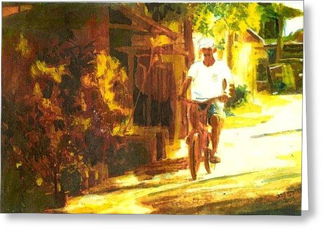 Thailand Ride Greeting Card