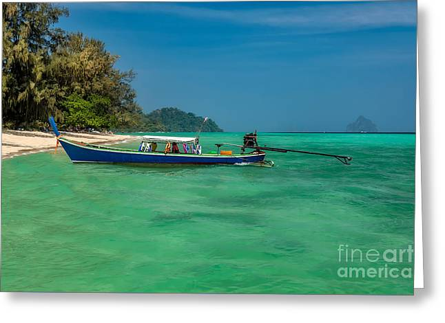 Thailand Vacation Greeting Card by Adrian Evans
