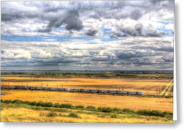 Thames Estuary View Greeting Card