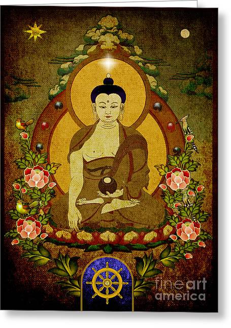 Thangka Painting Greeting Card