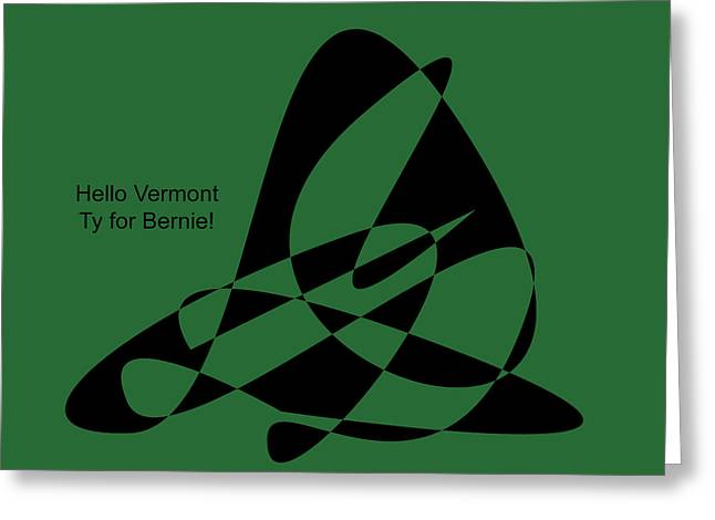 Thank You Vermont Greeting Card