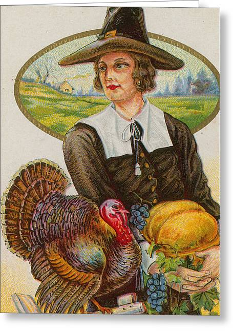 Thanksgiving Greeting Card by American School