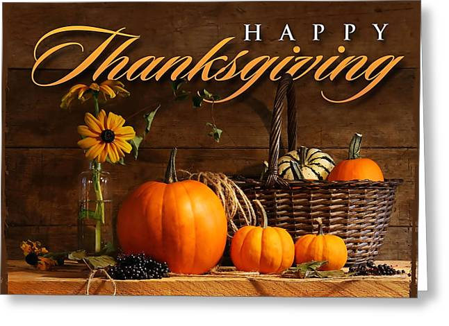 Thanksgiving I Greeting Card by  Newwwman