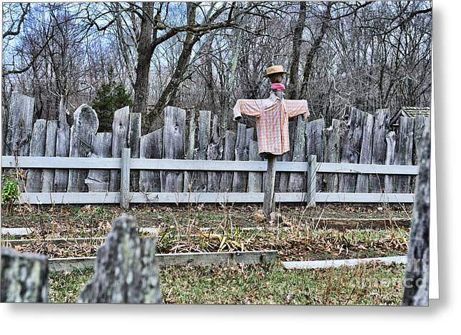 That Old Scarecrow Greeting Card by Paul Ward