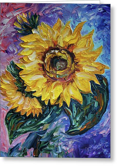 That Sunflower From The Sunflower State Greeting Card