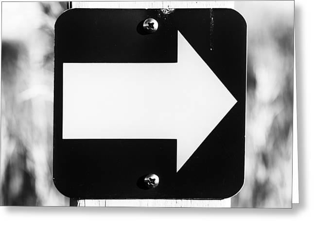 That Way Greeting Card by Christi Kraft