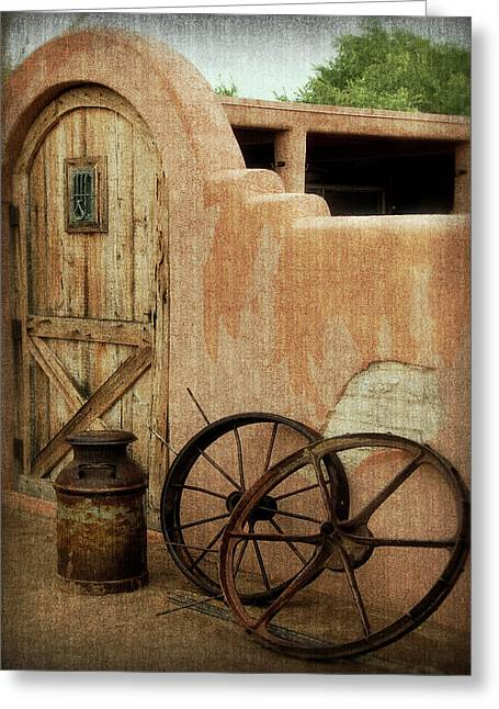 The Western Style Greeting Card by Lucinda Walter