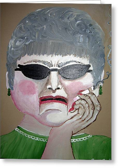 That Woman Greeting Card by Sharon Supplee