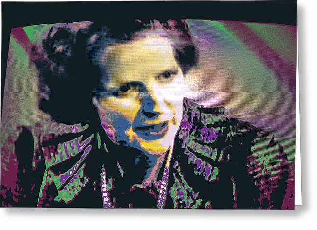 Thatcher Greeting Card by Shay Culligan