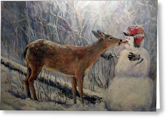 That'll Be Mine Greeting Card by Donna Tucker