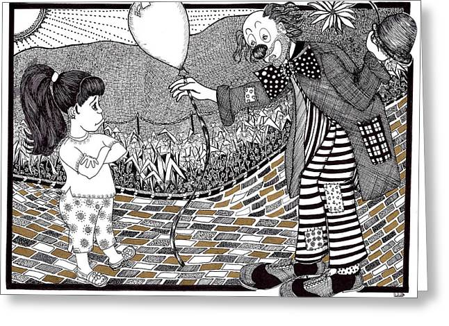 Thats Not A Hot Air Balloon Greeting Card by Lenora Brown