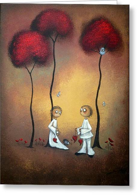 That's What Friends Are For Greeting Card by Charlene Zatloukal