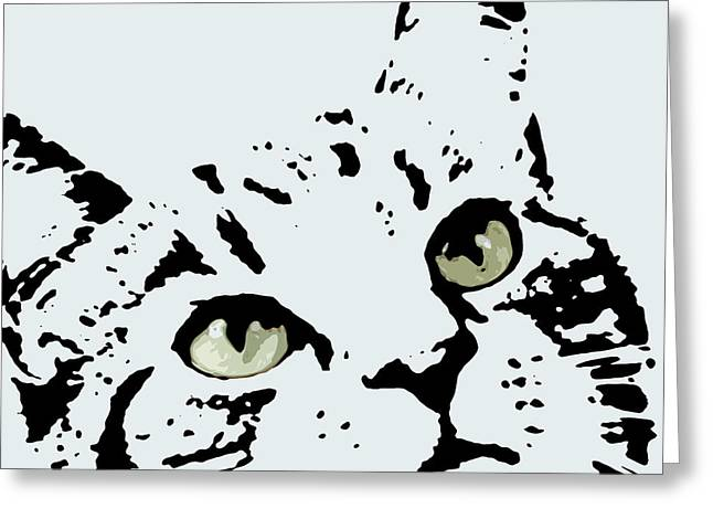 Thats Willie Pet Portrait Greeting Card