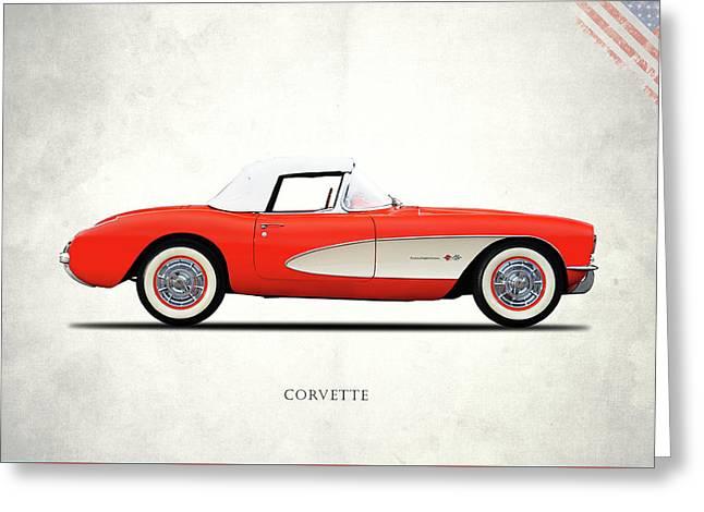 The 1957 Corvette Greeting Card