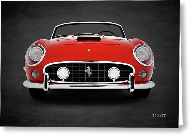 The 250 Gt Greeting Card by Mark Rogan