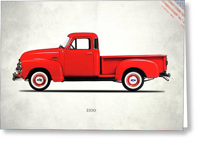The 3100 Pickup Truck Greeting Card