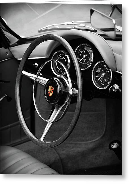 The 356 Roadster Greeting Card by Mark Rogan