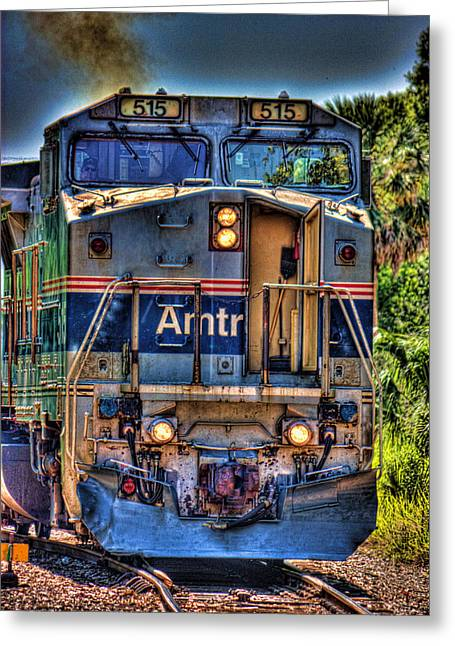 Caboose Greeting Cards - The 515 Greeting Card by Joetta West