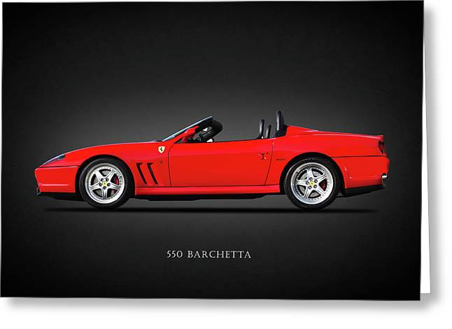 The 550 Barchetta Greeting Card