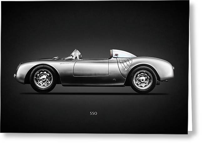 The 550 Spyder Greeting Card