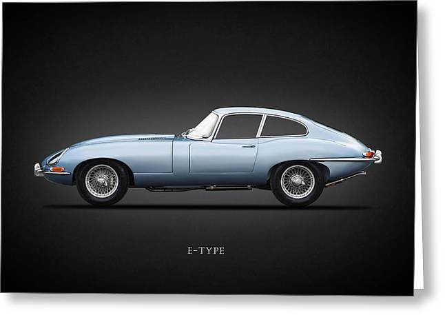 The 65 E-type Coupe Greeting Card