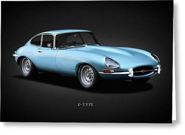 The 66 E-type Greeting Card