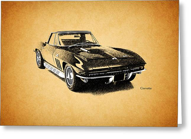 The 66 Vette Greeting Card