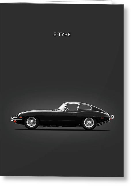 The 69 E-type Greeting Card