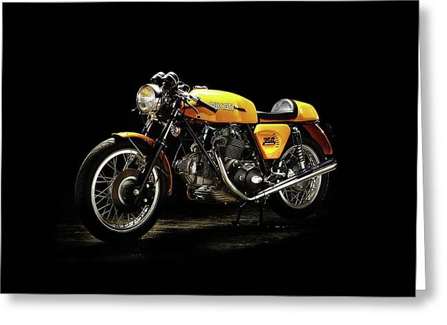 The 750 Sport Greeting Card by Mark Rogan