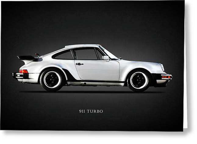 The 911 Turbo 1984 Greeting Card