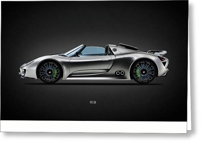 The 918 Spyder Greeting Card