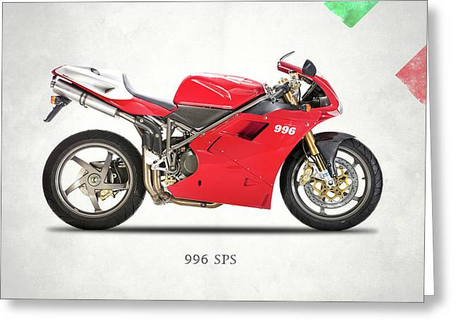 The 996 Greeting Card by Mark Rogan