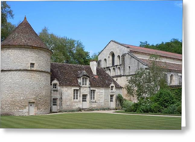 The Abbey De Fontenay Greeting Card