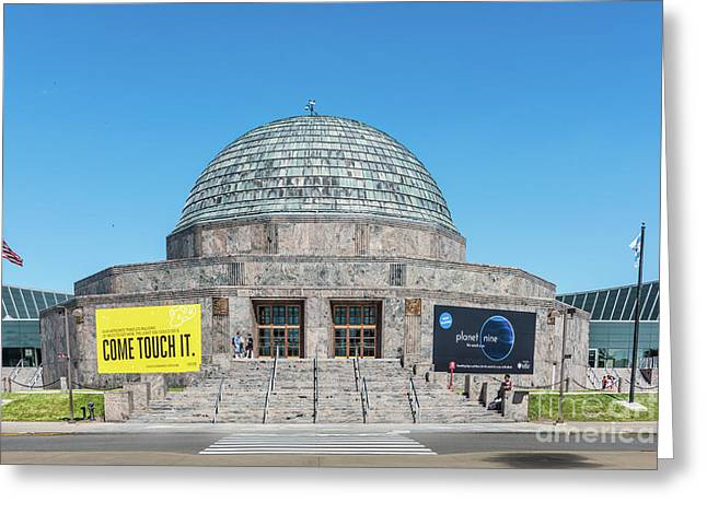 The Adler Planetarium Greeting Card