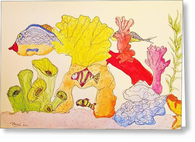 The Age Of Aquarium Greeting Card