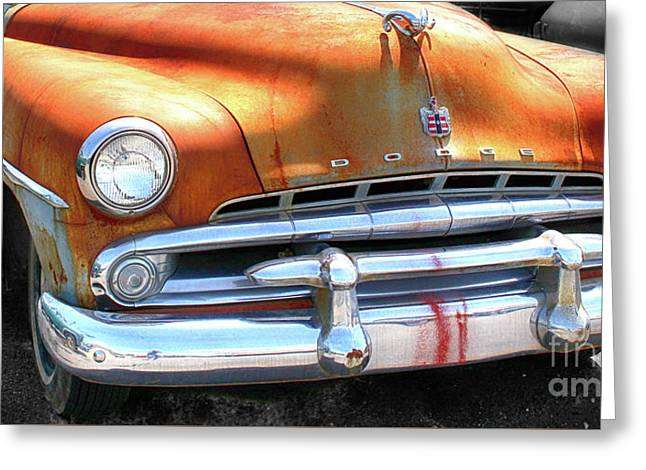 The Age Of Dodge  Greeting Card by Steven Digman