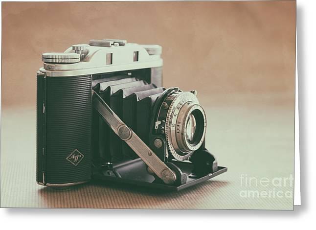 Greeting Card featuring the photograph The Agfa by Ana V Ramirez