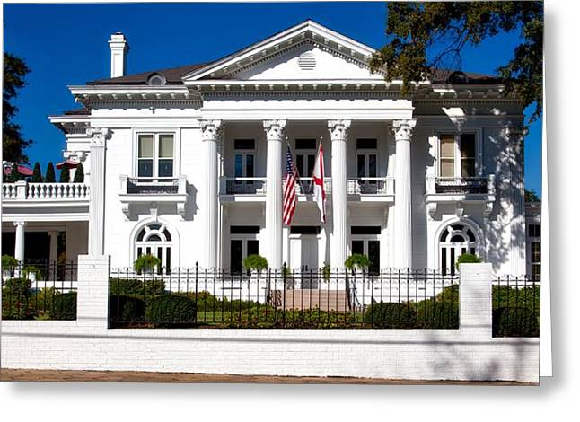The Alabama Governor's Mansion Greeting Card by Mountain Dreams