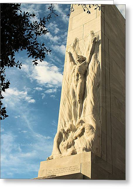 The Alamo Cenotaph Greeting Card
