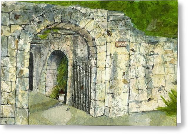 The Alamo Greeting Card by Lynn Babineau