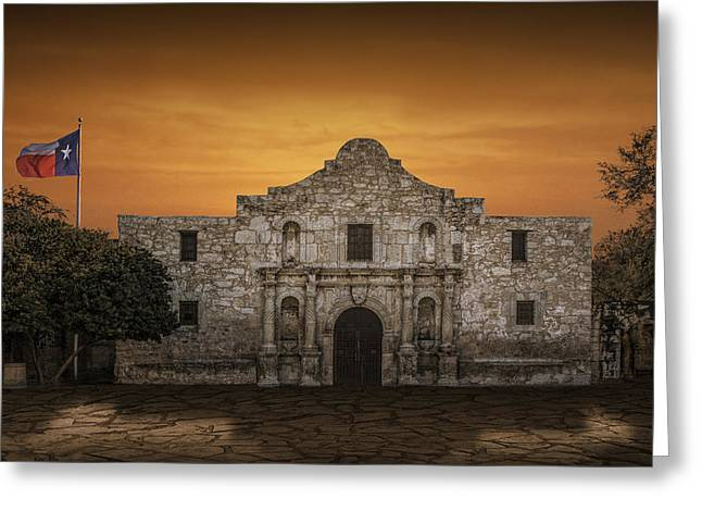 The Alamo Mission In San Antonio Greeting Card
